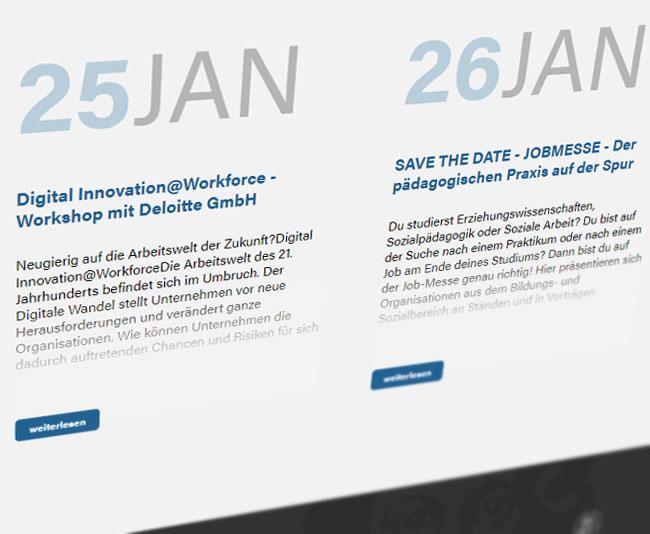 Grips design die werbeagentur in wetzlar goethe for Corporate design uni frankfurt